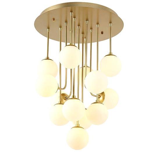 Lámpara de techo Postmodern Magic Beans Art Techo LED13 ...