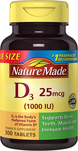 Nature Made Vitamin D3 Tablets, 300 Count