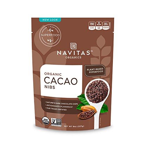 Navitas Organics Cacao Nibs, 8 oz. Bag