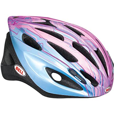 BELL Youth Trigger, Blue/Pink Rippler - One Size : Road Racing Bike Helmets : Sports & Outdoors