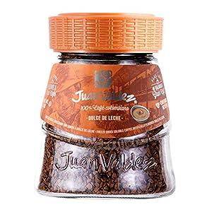 Juan Valdez® Caffè Liofilizzato Istantaneo con Caramello, Vaso da 95g