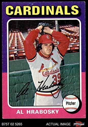 1975 Topps Mini # 122 Al Hrabosky St. Louis Cardinals (Baseball Card) Dean's Cards 5 - EX Cardinals Al Hrabosky St Louis