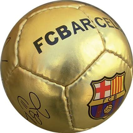 Balon FC Barcelona Dorado Mini: Amazon.es: Juguetes y juegos