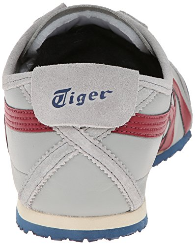 Onitsuka Tiger Mexiko 66 Fashion Sneaker Hellgrau / Burgund