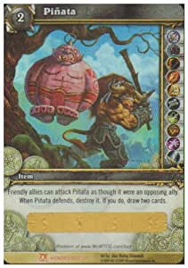 Ogre Pinata WoW World of Warcraft Loot Card Fields of Honor [Toy]