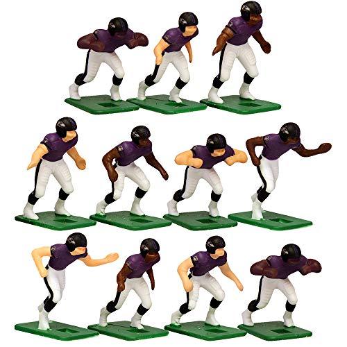 Baltimore RavensHome Jersey NFL Action Figure Set (Nfl Baltimore Ravens Jersey)