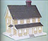 #9: Village Country Manor House, Ceramic Bisque Ready To Paint