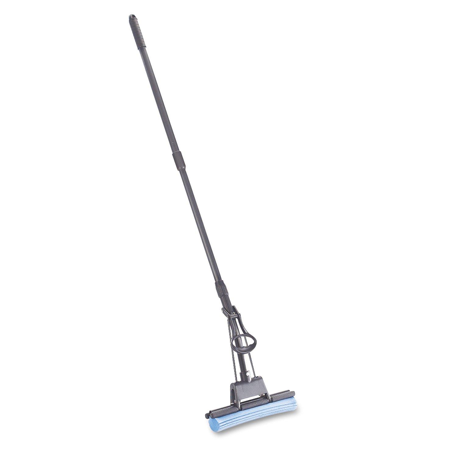 Rubbermaid Commercial G780-04 RCPG780CT PVA Sponge Mop with Wringer Lever, Blue Head, (Pack of 4)