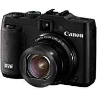 Canon PowerShot G16 digital camera 5 times zoom PSG16 wide angle 28mm optical - International Version (No Warranty)