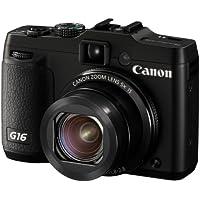 Canon PowerShot G16 digital camera 5 times zoom PSG16 wide angle 28mm optical - International Version (No Warranty)