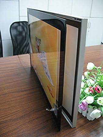 Sola cara Marcos de aluminio magnético Abosrb LED cajas de luz ...