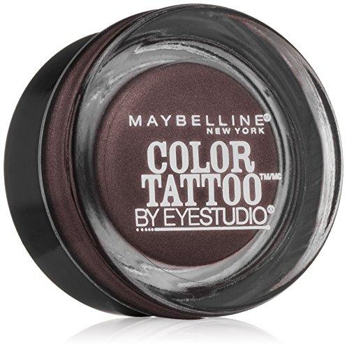 Maybelline Eyestudio ColorTattoo Leather 24HR Cream Eyeshadow, Vintage Plum, 0.14 oz.