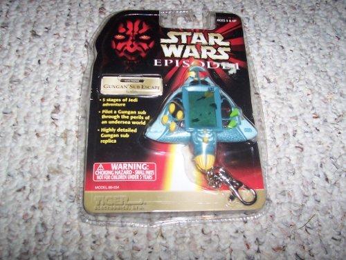 Star Wars Gungan Sub Escape Tiger Handheld Game Keyring Electronic