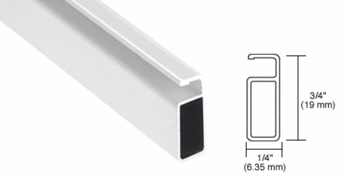 CRL White 3/4'' x 1/4'' Extruded Screen Frame
