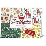 Papierglück - Design Weihnachten klassisch: Motivpapier (monbijou)
