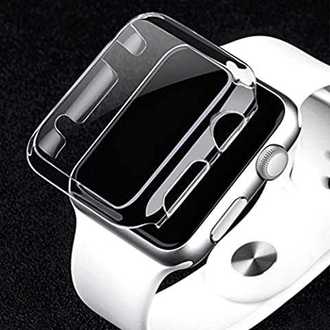 For Apple Watch Series 1 42mm, Oksale Ultra-Slim Cystal Clear Hard PC Full-body Protective Case Cover (Series 1 42mm)