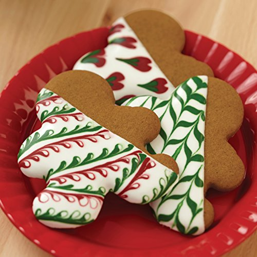 Wilton 2109-8429 Red and Green Holiday Cookie Decorating Icing, Multipack of 6, Assorted by Wilton (Image #6)