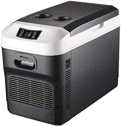 HXCLYQ Nevera Portátil Eléctrica (28litros) - Mini Congelador Frigorífico Pequeño, Funciona con CA O CC - Nevera Rígida,para Coche Camión Camper Viaje ...