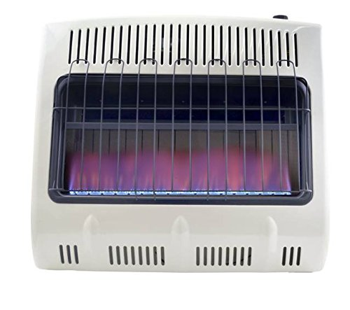 Mr. Heater Corporation F299730,30,000 BTU Vent Free Blue Flame Propane Heater, MHVFB30LPT (Indoor Propane)