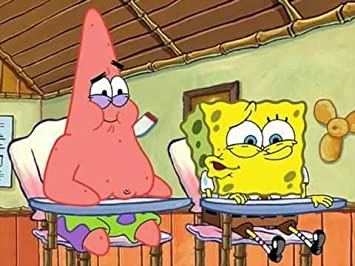 Spongebob And Patrick Edible Icing Image 14 Sheet Amazoncom