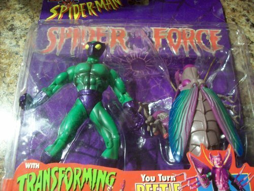 el mas de moda Beetle Figura Spiderman Spiderforce Collection by Juguete Biz Biz Biz  descuento online
