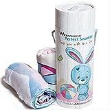 Premium Muslin Swaddle Blanket Gift Set
