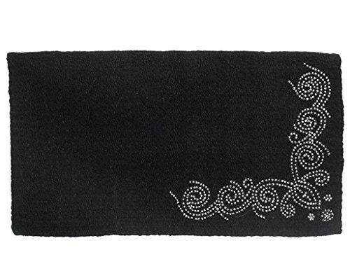[해외]터프 -1 디자이너 도트 울 안장 담요/Tough-1 Designer Dots Wool Saddle Blanket
