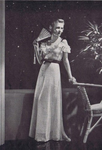New Moon Evening Dress Gown Crochet Pattern Kindle Edition By The