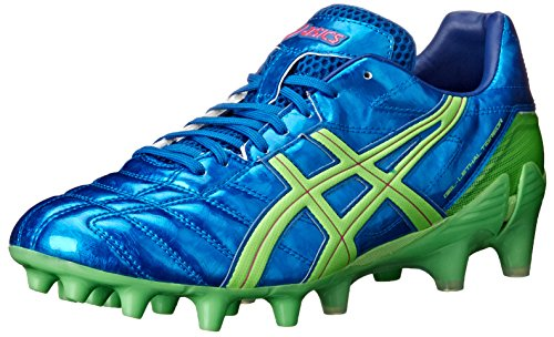 Asics Men's Gel-Lethal Tigreor 7 IT Soccer Shoe,Kakadu/Lime/Red,10.5 M US
