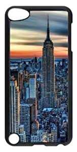 Specialdiy Empire State Building Polycarbonate case cover UOO5K1EYGpM for iPod Touch 5 - Transparent
