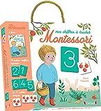 Coffret Montessori - Mes chiffres à toucher