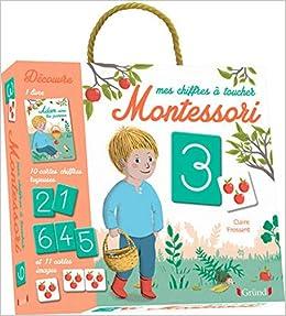 Mes Chiffres A Toucher Montessori Coffret Livre 10