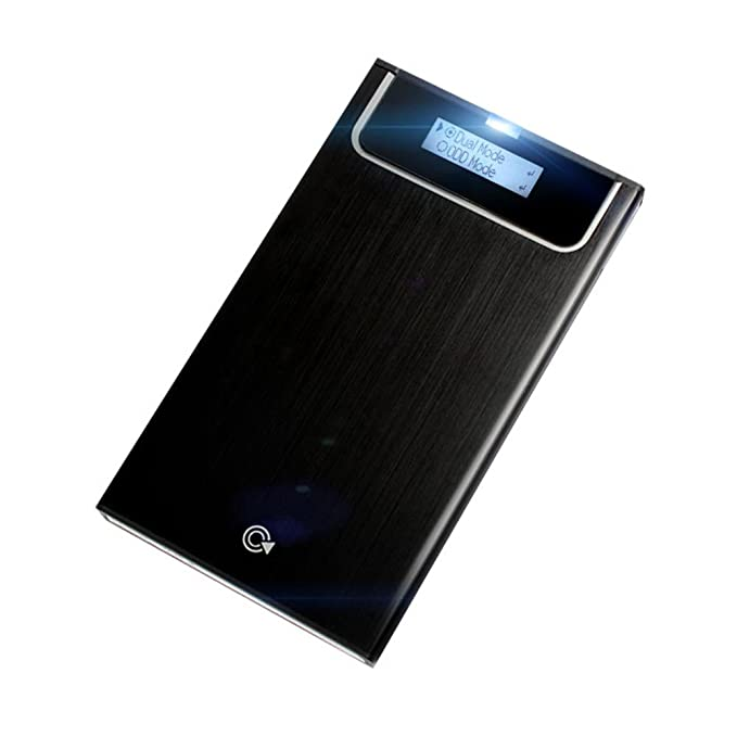IODD 2531 Negro USB 3.0 External Hard Drive Enclosure [virtual de DVD Blu-ray ROM / VHD / arranque / SSD / HDD / 2.5] Hecho en Corea (IVA no incluido)