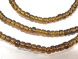 1 FULL STRAND 21 inches long - Ghana honey amber