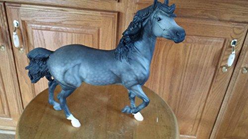 Breyer Custom Hwin gray grey horse