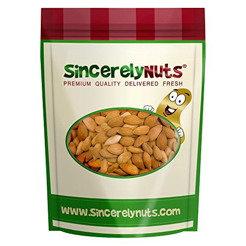 Sincerely Nuts Sweet Apricot Kernel Seeds- One Lb. Bag- Rich in Vitamin B17- Healthy Snacks for Kids and Adults- Kosher Certified