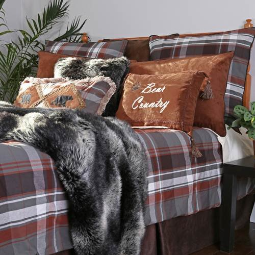 Grand Teton Plaid Comforter Set from The Cabin Place!