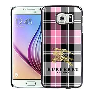 Samsung Galaxy S6 Burberry 14 Black Screen Cellphone Case Genuine and Fashion Design