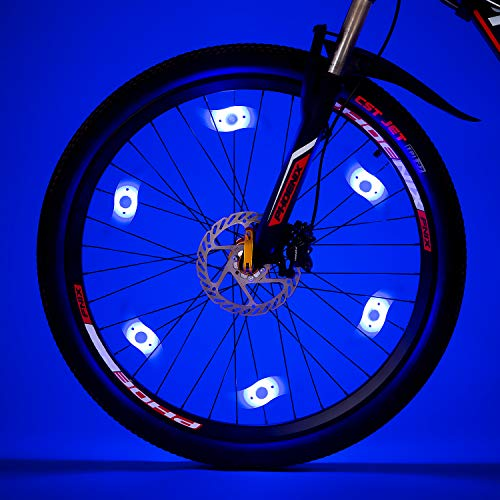 Vincilee Bicycle Wheel Lights Spoke Outdoor Bike Safety Accessories 32 Kinds Of