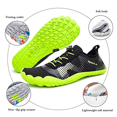 Men Women Barefoot Shoes Quick Drying for Water Activities Outdoor Sports and Lightweight Jogging Fitness
