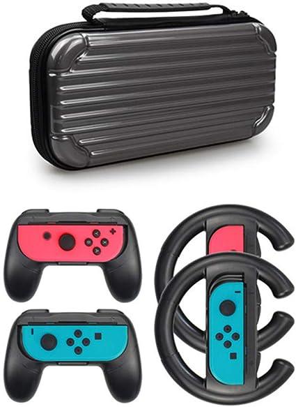 EUCoo Nintendo eShop - Mando para Nintendo Switch (2 Volantes para ...