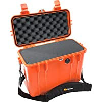 Pelican 1430 Camera Case With Foam (Orange)
