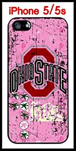 NCAA Ohio State Buckeyes Girls iPhone 5 5s Case Hard Silicone Case by Maris's Diary