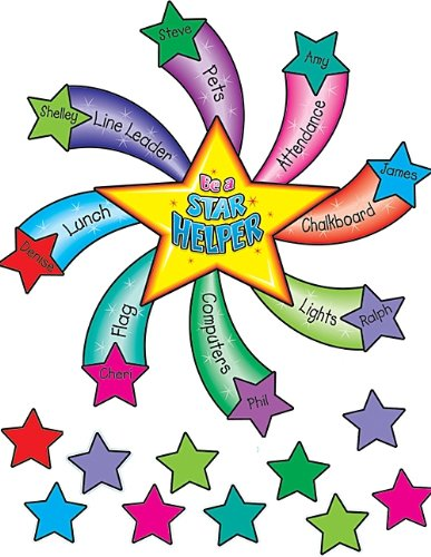 Teacher Created Resources Star Helper Bulletin Board Display Set (Little Bulletin Board Sets)