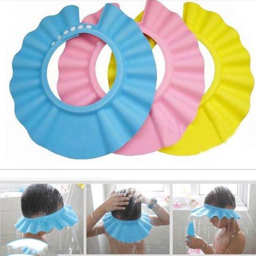 bestim-new-fashion-kids-care-shampoo-bath-shower-cap-hat-wash-hair-blue