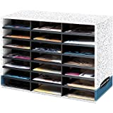 Literature Organizer,Grey, 28-1/2 in. X 20-1/8 in. X 11-7/8 in.