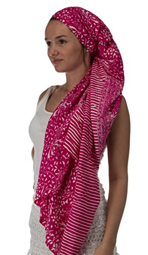 brandsseller - Camisola - para mujer rosa/blanco
