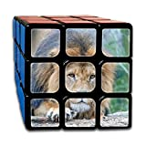 AVABAODAN Sports Lion Rubik's Cube Custom 3x3x3 Magic Square Puzzles Game Portable Toys-Anti Stress For Anti-anxiety Adults Kids