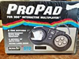 ProPad Controller For 3DO Interactive Multiplayer Game System