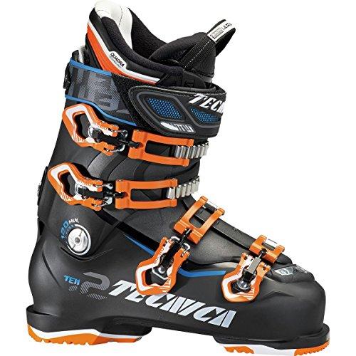 Tecnica Ten.2 120 HV Ski Boots - 30.5/Black-Orange (Mountain Ski Boots Tecnica)